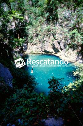 Cascada Cumbres de Monterrey - Rescatando